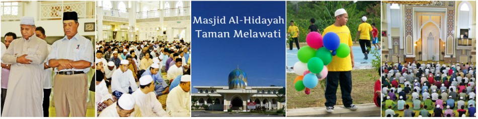 Masjid Al-Hidayah Taman Melawati – Official Website of Masjid Al-Hidayah Taman Melawati, Kuala Lumpur